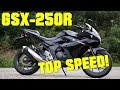 2017 Suzuki GSX250R TOP SPEED