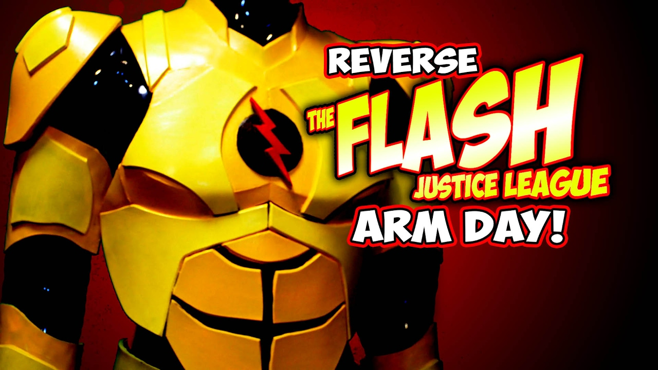 Justice League Flash Costume How To Diy Arm Pt3 Youtube