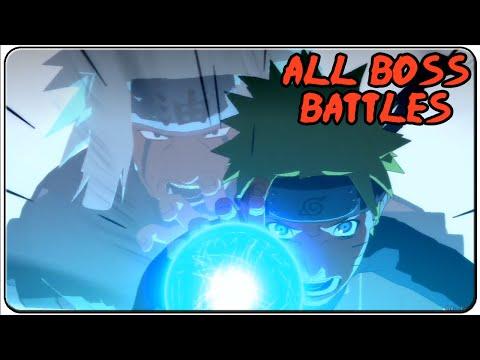 Naruto Shippuden Ultimate Ninja Storm 2 All Bosses