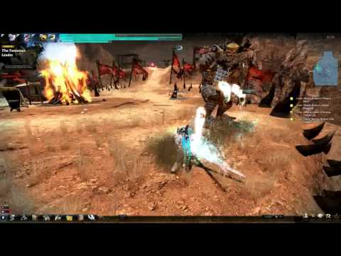Vindictus: Lann – end game gameplay demo; Twin Swords, Paladin Transform Level 2
