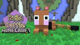 Build Battle - O TIGRINHO GANHOU CHUVA DE DIAMANTE :)