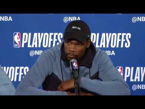 Green & Durant postgame conference   Spurs vs Warriors Game 5   April 24, 2018   NBA Playo