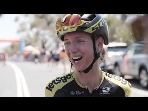 Lucy Kennedy post-stage | Novatech Stage 2 | Santos Women's Tour Down Under
