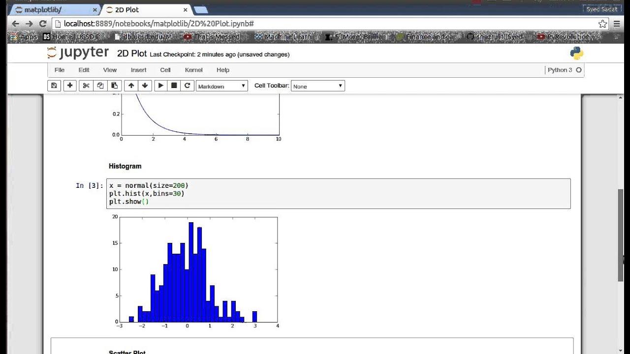 Matplotlib (Python Plotting) 3: 2D Plot