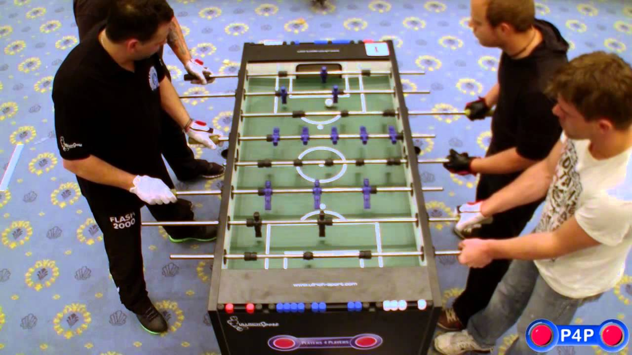 Foosball (Table Soccer) German Championship 2012, Open Doubles Final    YouTube