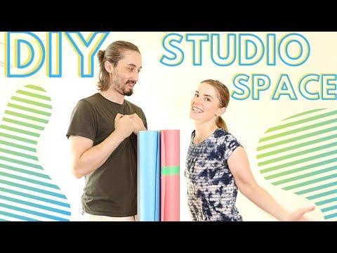 DIY home studio for youtube videos | Backdrops for youtube videos