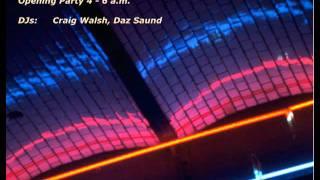 E-Werk Berlin Chromapark 1996 - Opening - Craig Walsh + Daz Saund
