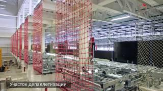 Паллетный конвейер для склада компании Комус(Компания «Комус» является крупнейшим на российском рынке поставщиком канцелярских товаров и бумаги. Комп..., 2015-03-25T13:35:53.000Z)