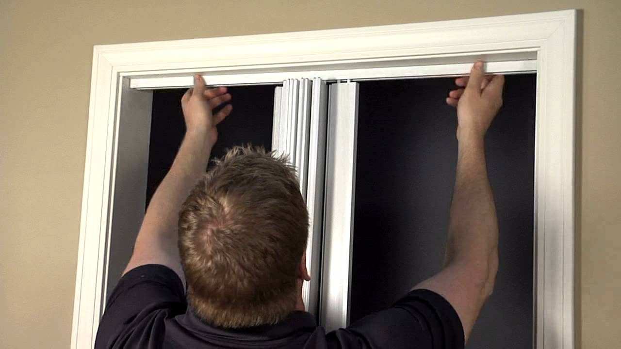 Panache Folding Door Installation & Panache Folding Door Installation - YouTube pezcame.com