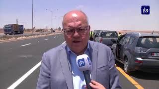 وزير الأشغال يتفقد الطريق الصحراوي - (30-5-2018)