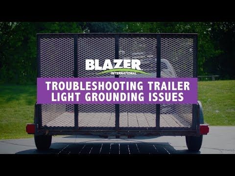 Troubleshooting Trailer Lights - Grounding Issues