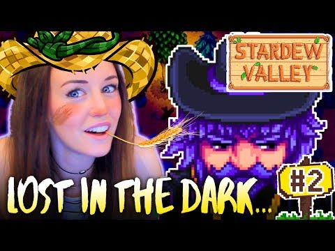 😱I GOT TOTALLY LOST AT NIGHT!🐄 - (Stardew Valley #2!🚜) ✨NEW SERIES✨