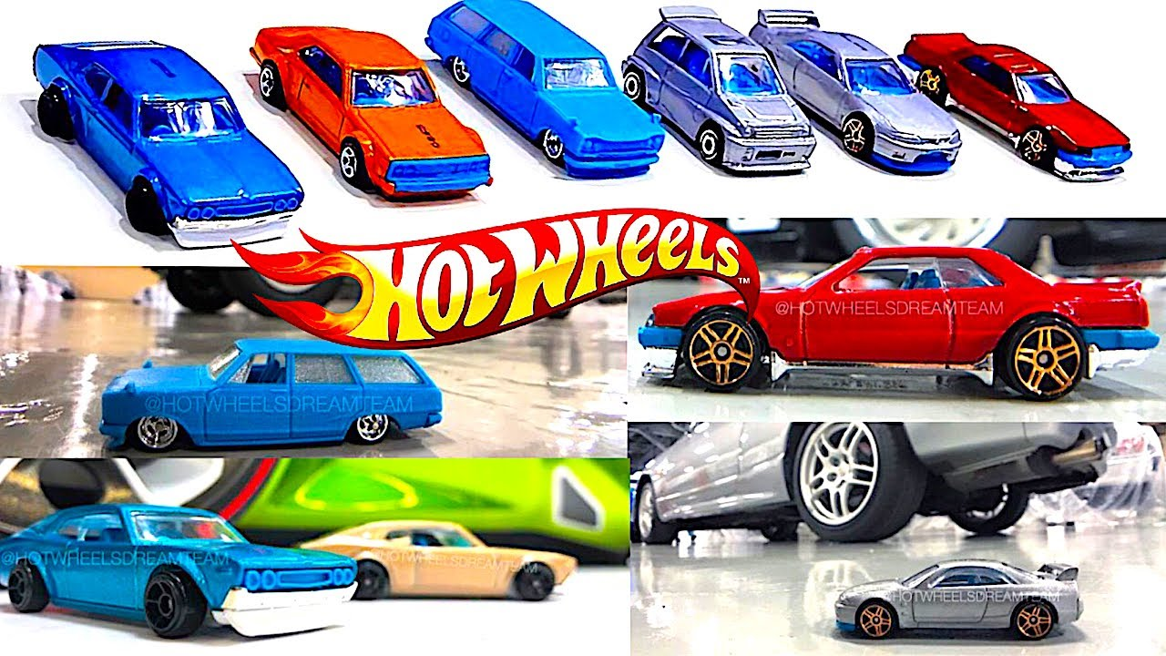 new 2018 hot wheels japanese sports cars and more youtube. Black Bedroom Furniture Sets. Home Design Ideas