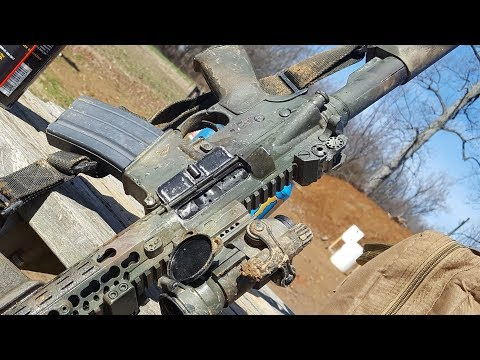 Aero precision X-15/AC-15- Review (We shot it until we broke it)
