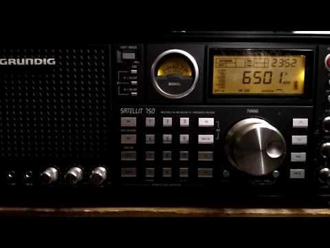 Maritime Weather Broadcast of USCG NMN Chesapeake, Virginia, USA @ 6501 kHz USB