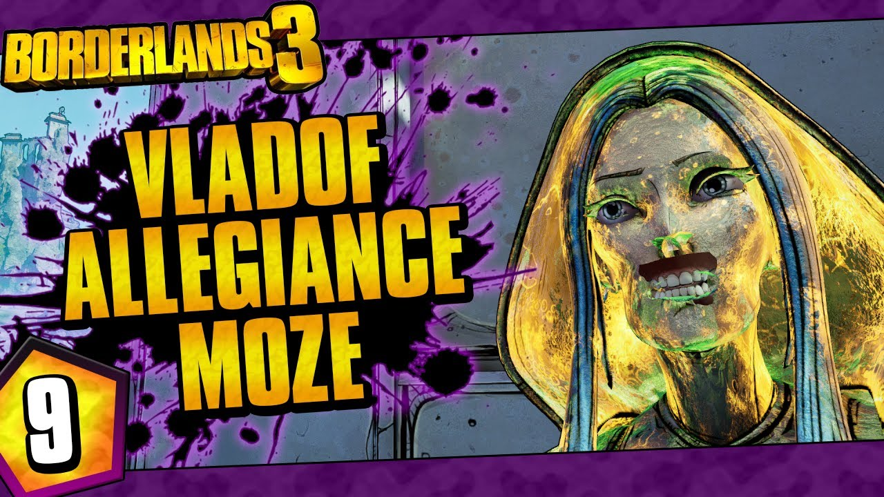 Borderlands 3 | Vladof Allegiance Moze Funny Moments And Drops | Day #9 thumbnail