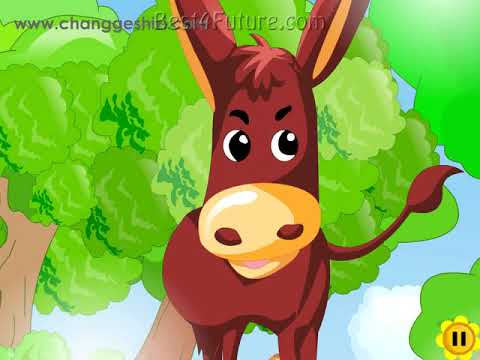 Chinese Children's Song: The Little Donkey!