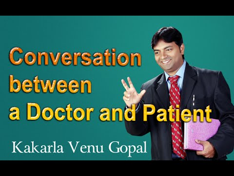 funny dialogue between doctor patient