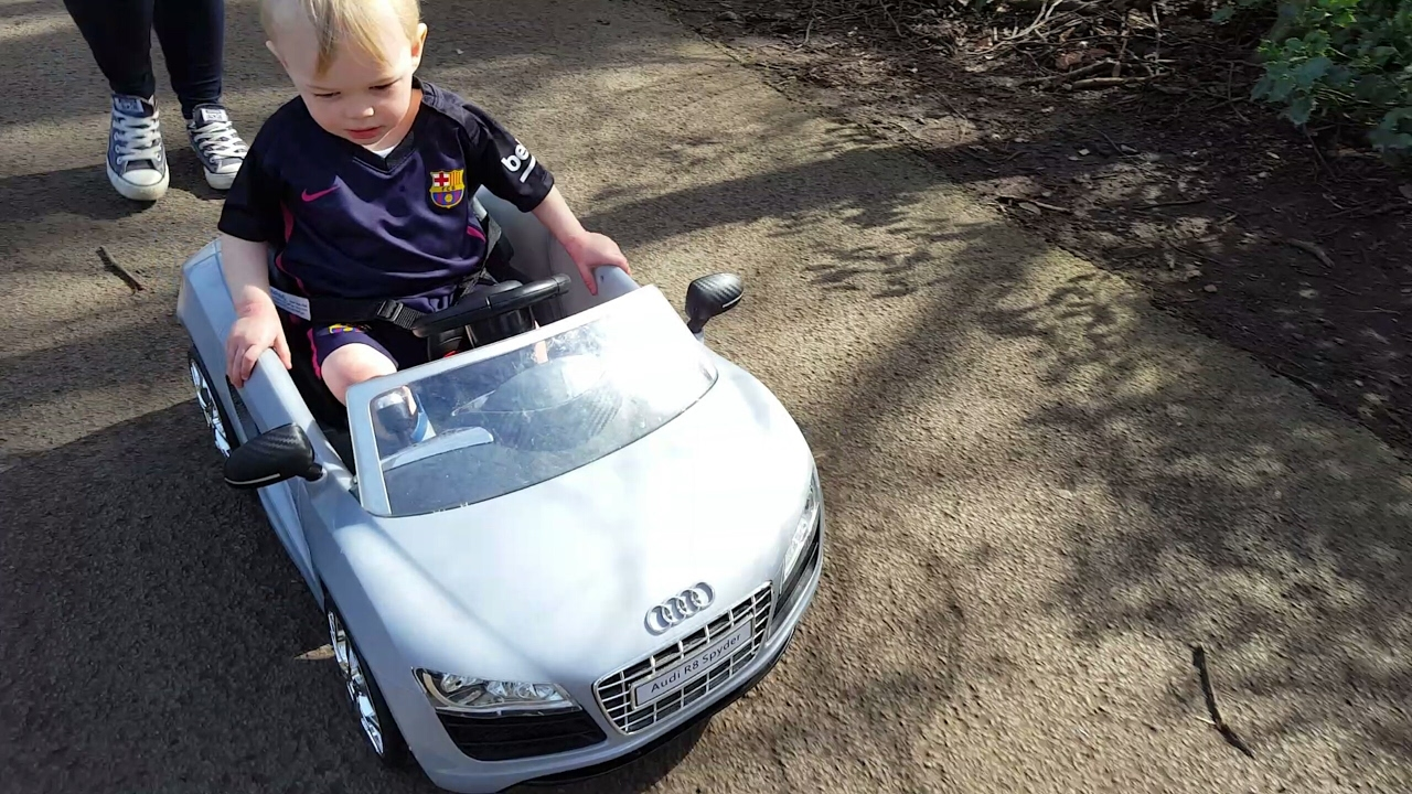 Audi Push Buggy Calderstones Park Liverpool Youtube