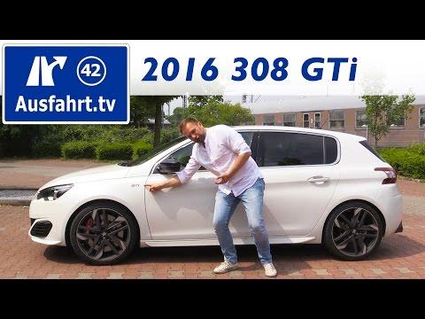 Bild: Peugeot 308 GTi 1,6l 270 THP 2016 - ein Fahrbericht