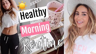HEALTHY (realistic) Morning Routine 2018