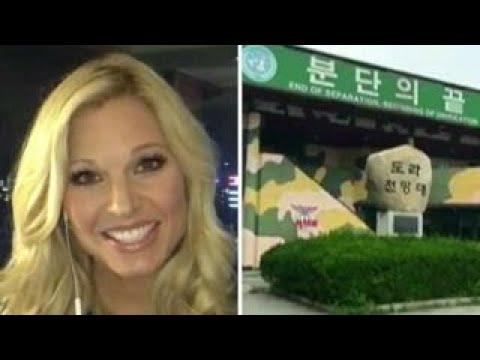 Anna Kooiman visits Korea's Demilitarized Zone