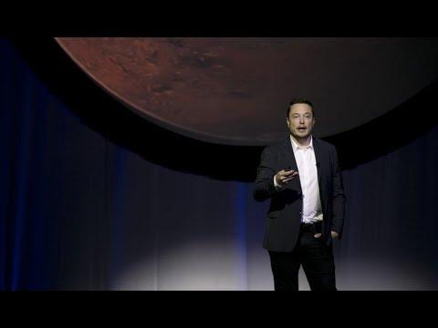 Elon Musk unveils his plans to colonize Planet Mars