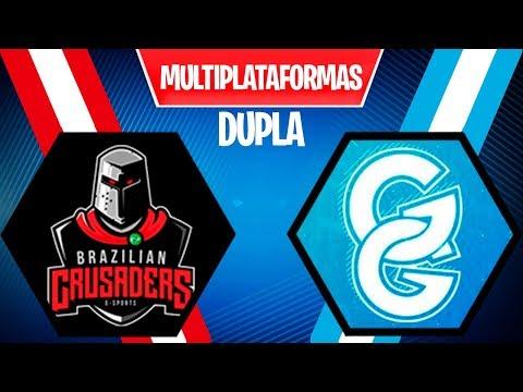 TORNEIO FORTNITE DUPLA - BRAZILIAN CRUSADERS vs GG BLUE - MULTIPLATAFORMA