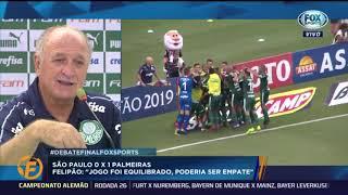 FELIPÃO REVELA QUE PALMEIRAS TERÁ NOVIDADE E É SECO SOBRE BORJA!