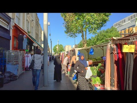 LONDON WALK From Holborn Station To Whitechapel Station In The East End | England