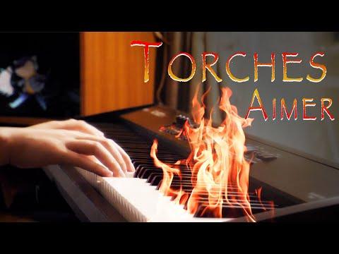 Torches / Aimer - Vinland Saga ED - Piano Cover (Full Extended) (Lyrics Video)