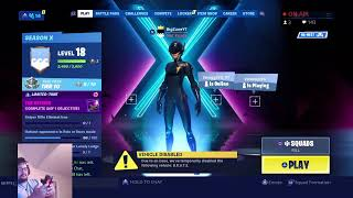 FORTNITE SQUADS //SOLOS//DUOS//ZONEWARS!!! USE CODE BigZune26