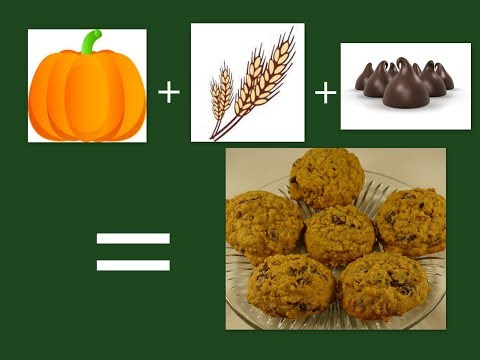 Pumpkin Oatmeal Chocolate Chip Cookieswith yoyomax12