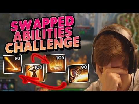 Smite: Swapped Abilities Challenge - Ra Conquest - THIS MESS