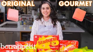 Pastry Chef Attempts to Make Gourmet Starbursts | Gourmet Makes | Bon Apptit