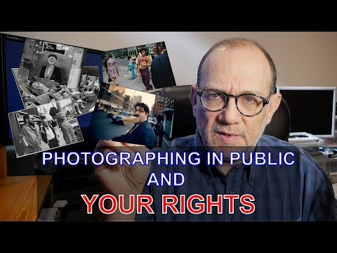Photographing in Public