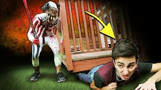 Secret Hiding Spots from IT the Clown! (Real Life Hide and Seek Challenge)