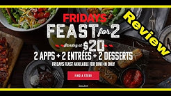 Friday's 2 for $20 Review
