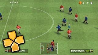 Pro Evolution Soccer 2010 PPSSPP Gameplay Full HD / 60FPS