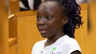 9-Year-Old Girl's Testimony About Police Killings in Charlotte Goes Viral