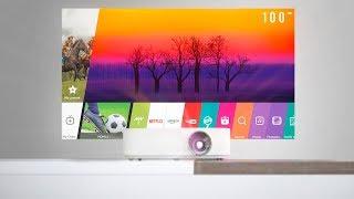 "LG MiniBeam - 100"" Portable Smart TV?"