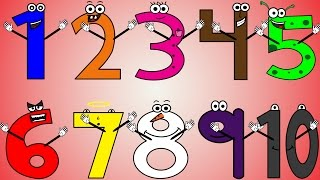 Numbers Song 3 | Sing, Learn and Count Numbers 1-50 For Kids