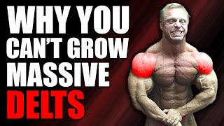 21 Reasons Your Shoulders Won't Grow (Simple Fix)