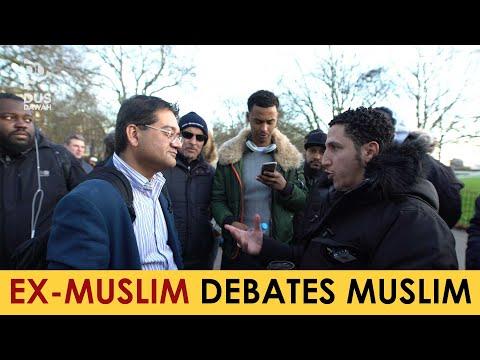 Ex-Muslim Doctor Debating Shamsi | Speakers Corner