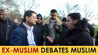 Ex-Muslim Doctor Debating Shamsi | Speakers Corner