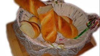 Багет с чесноком / Baguette with garlic