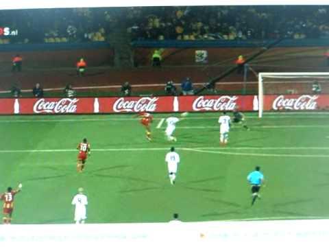 Asamoah Gyan scores 1-2 USA Ghana 2010