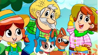 THE FARMER IN THE DELL | Kids song | Clap clap kids
