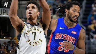 Detroit Pistons vs Indiana Pacers - Full Game Highlights | October 23, 2019 | 2019-20 NBA Season
