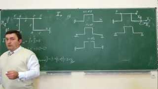 Сопротивление материалов M-03 (односвязная плоская рама с двумя заделками, статически неопределимая)